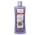 Bohemia Gifts & Cosmetics Lavender regenerační krémová koupelová pěna 500 ml