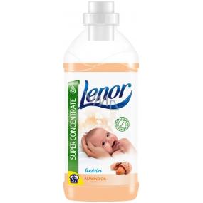 Lenor Sensitive Almond Oil s vůně mandlí koncentrovaná aviváž je vhodný pro citlivou dětskou pokožku 37 dávek 925 ml