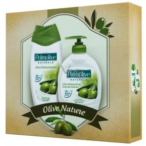 Palmolive Naturals Olive Milk sprchový gel 250 ml + tekuté mýdlo 300 ml, kosmetická sada