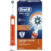 Oral-B Pro 400 CrossAction Orange elektrický zubní kartáček 1 kus