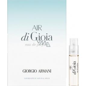 Giorgio Armani Air di Gioia parfémovaná voda pro ženy 1,2 ml s rozprašovačem, Vialka