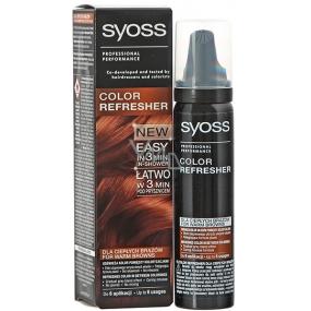 Syoss Color Refresher Pro teplé hnědé odstíny vlasů 75 ml