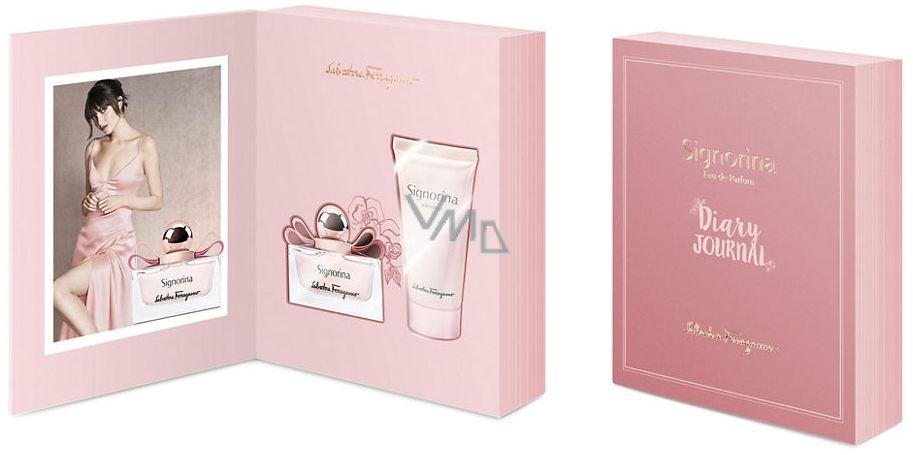 Salvatore Ferragamo Signorina perfumed water 50 ml + body milk 100 ml