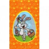 Nekupto Velikonoční sáček zajíček s košíkem 180 x 360 mm 004 01 NVE