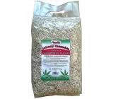 Apetit Johnny Cannabis podestýlka z konopného pazdeří pro alergická zvířátka ekologická bezprašná podestýlka. 100% přírodní produkt 10 l
