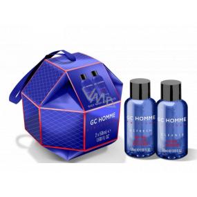Grace Cole On The Move sprchový gel 50 ml + šampon na vlasy 50 ml, kosmetická sada pro muže
