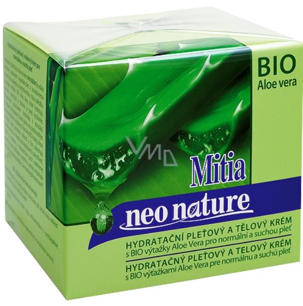 Mitia Bio Aloe Vera hydratační pleťový a tělový krém 250 ...