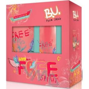 B.U. Free Spirit toaletní voda 50 ml + deodorant sprej 150 ml, pro ženy dárková sada