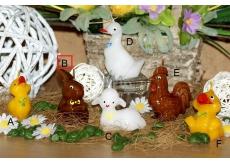 Lima Figurka Zajíc větší svíčka 7 cm 1 kus