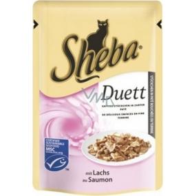 Sheba Duett kapsička s lososem 85 g
