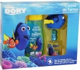 Corine De Farme Hledá se Dory toaletní voda pro dětí 50 ml + sprchový gel 250 ml + hračka do koupele rybička, dárková sada