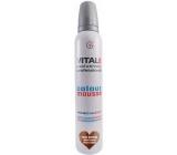 Vitale Exclusively Professional barvící pěnové tužidlo s vitaminem E Dark Brown - Tmavě hnědá 200 ml