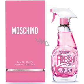 Moschino Fresh Couture Pink toaletní voda pro ženy 100 ml