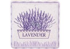 Bohemia Gifts & Cosmetics Lavender květináč dekorativní kachlík 10 x 10 cm