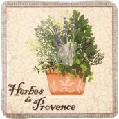 Bohemia Gifts de Provence dekorativní kachlík 10 x 10 cm