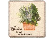 Bohemia Gifts & Cosmetics de Provence dekorativní kachlík 10 x 10 cm