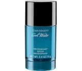 Davidoff Cool Water Men deodorant stick pro muže 70 g