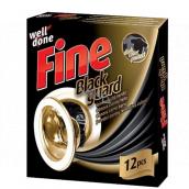 Well Done Fine Black Guard ubrousky do praní pro obnovu černé barvy 12 kusů