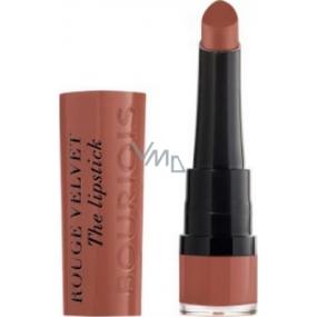 Bourjois Rouge Velvet The Lipstick rtěnka 16 Caramelody 2,4 g
