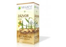 Megafyt Bylinková lékárna Zázvor bylinný čaj napomáhá k trávení, dýchání a duševní pohodě 20 x 1,5 g