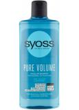 Syoss Pure Volume nadýchaný objem bez zatížení, micelární šampon pro slabé vlasy 440 ml