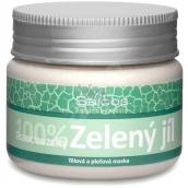 Saloos 100% Zelený jíl francouzský pleťová maska absorbuje toxické látky, zbavuje ji nečistot, nežádoucí mastnoty 80 g