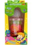 Joker Slimy Sliz se svítící a hrací kuličkou růžový 140 g
