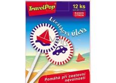 VitaHarmony TravelPop Lízátková úleva při cestovní nevolnosti doplněk stravy 12 kusů