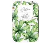Bohemia Gifts Konopí ručně vyráběné toaletní mýdlo s glycerinem v plechové krabičce 80 g
