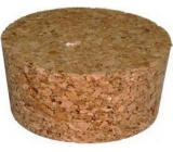 Korková zátka demižonová korková 70 x 60 x 35 mm