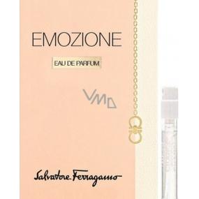 Salvatore Ferragamo Emozione parfémovaná voda pro ženy 1,5 ml s rozprašovačem, vialka