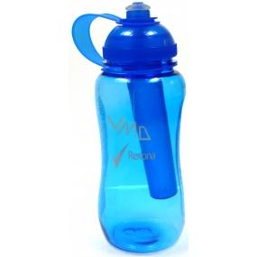 Rexona Sportovní plastová láhev s chladící vložkou modrá 500 ml