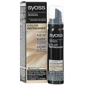 Syoss Color Refresher Pro ledové blond odstíny vlasů 75 ml