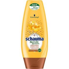 Schauma Nature Moments Medový elixír a olej z opuncie mexické pro regeneraci a sílu balzám na vlasy 200 ml