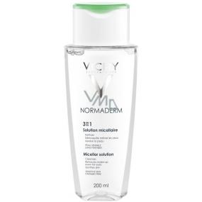 Vichy Normaderm 3v1 Čisticí micelární voda 200 ml