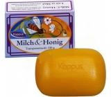 Kappus Milch & Honig - Med a mléčný extrakt zklidňující toaletní mýdlo pro děti 100 g