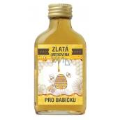 Bohemia Gifts Zlatá medovina 18 % Pro babičku 100 ml