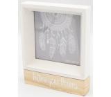Nekupto Home Decor Dřevěný fotorámeček 15 x 12 x 2,5 cm