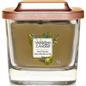 Yankee Candle Pear & Tea Leaf - Hruška a čajové lístky sojová vonná svíčka Elevation malá sklo 1 knot 96 g