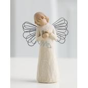 Willow Tree - Anděl uzdravení - Všem, kteří přinášejí útěchu a starostlivost Figurka anděla Willow Tree, výška 12,5 cm