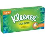 Kleenex Balsam hygienické kapesníky s výtažkem z měsíčku lékařského 3 vrstvé 72 kusů