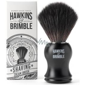 Hawkins & Brimble Štětka na holení se syntetickými štětinami černá 10,5 cm