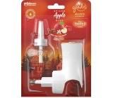 Glade Electric Scented Oil Spiced Apple Kiss s vůní jablka, skořice a muškátového oříšku elektrický osvěžovač vzduchu strojek stekutounáplní 20 ml