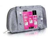 Gliss Kur Supreme Length šampon na vlasy 250 ml + balzám na vlasy 200 ml + expres balzám na vlasy 200 ml + kosmetická taška, kosmetická sada