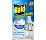 Raid Family elektrický odpařovač tekutý proti komárům náhradní náplň 30 nocí 21 ml