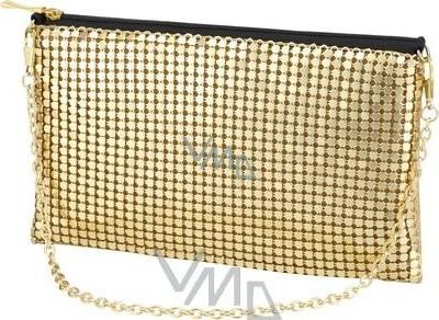 7e8ee3ec80 Playboy zlatá kabelka s řetízkem 19 x 12 x 0