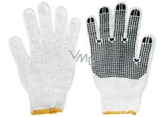 Spokar Pletené s terčíky, rukavice pracovní