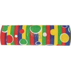 Serpentýny dekor kolečka 7 mm x 4 m 18 kusů v balení