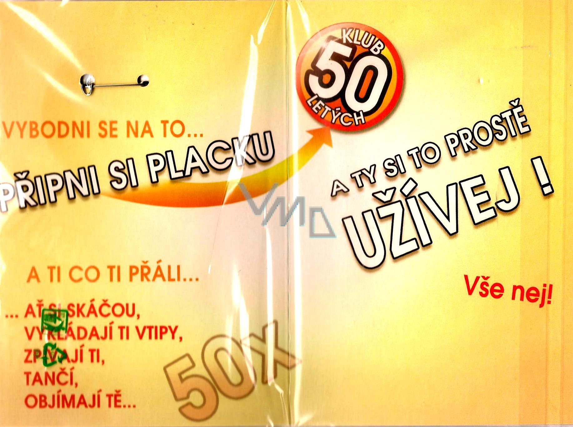 prani k narozeninam 50 Nekupto Přání k narozeninám Klub 50 letých   VMD parfumerie   drogerie prani k narozeninam 50