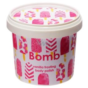 Bomb Cosmetics Vanilková poleva - Vanilla Frosting přírodní tělový peeling